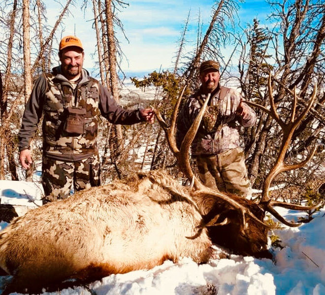 Trophy Bull Elk Hunts Wyoming