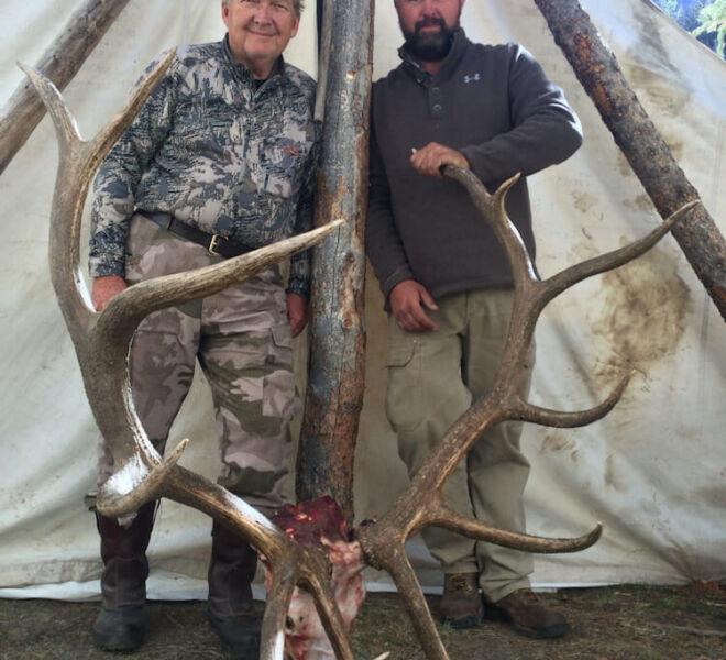 Elk Hunting In Meeteetse WY