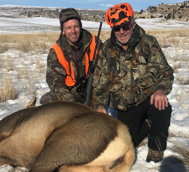 Cow Elk Rifle Hunts Wyoming