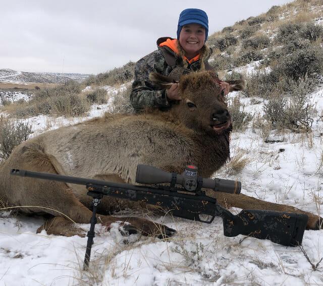 Hunt Cow Elk Wyoming