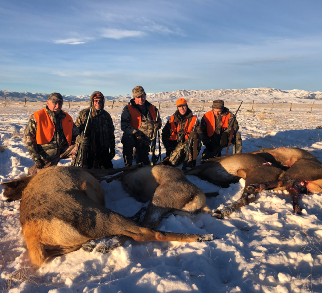 Fully Guided Wyoming Rifle Elk Hunt