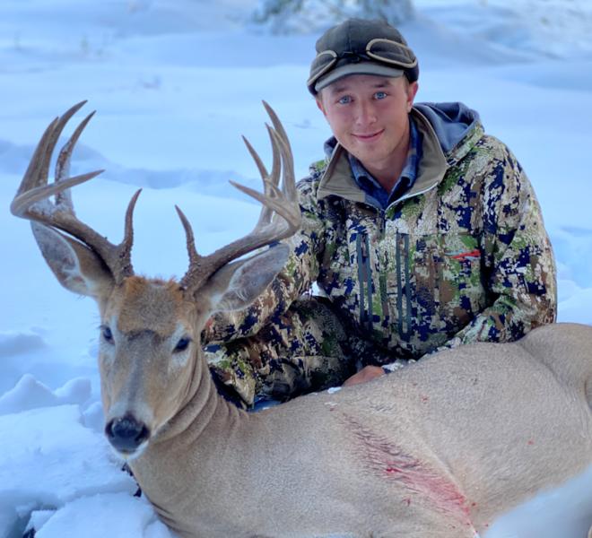 Late Season Whitetail Buck at WRO