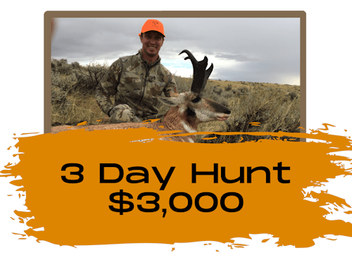 3 Day Antelope Hunts In Wyoming